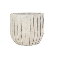 Ter Steege Кашпо керамическое Sia, 13х12 см, кремовое
