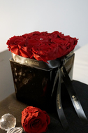 Tiziano Кашпо керамическое Tanaro Куб, 11х11х10.5 см, темно-серое