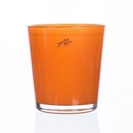 Sandra Rich Кашпо стеклянное Орхид, 13х14 см, оранжевое