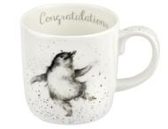 Royal Worcester Кружка Забавная фауна.Поздравляю (400 мл) (пингвин)