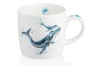 Royal Worcester Кружка Забавная фауна.Синий кит (310 мл)