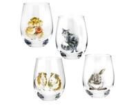 Royal Worcester Набор стаканов Забавная фауна (500 мл), 4 шт.