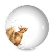 Royal Worcester Тарелка для пасты Забавная фауна.Белка, 22 см