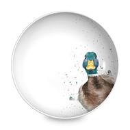 Royal Worcester Тарелка для пасты Забавная фауна.Утка, 22 см