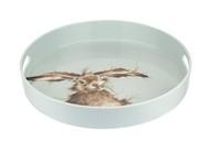 Pimpernel Поднос круглый с ручками Забавная фауна. Зайка, 35 см