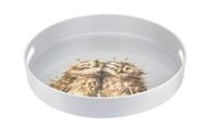 Pimpernel Поднос круглый с ручками Забавная фауна. Совушки, 35 см