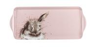 Pimpernel Поднос прямоугольный с ручками Забавная фауна. Пушистый кролик, 38.5х16.5 см