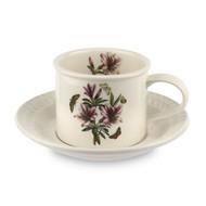 Portmeirion Чашка чайная с блюдцем Ботанический сад. Рельеф. Азалия (260 мл)
