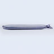 Doiy Блюдо сервировочное стеклянное Cadaqus, 44.8 см, синее