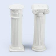 Doiy Солонка и перечница керамические Hestia, белые