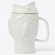 Doiy Чашка с емкостью для заваривания Taiyaki Cream