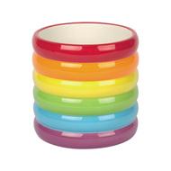 Doiy Горшок цветочный Rainbow, 13х13х13 см