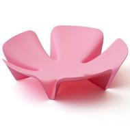 Qualy Ваза для фруктов Flower, 30 см, розовая