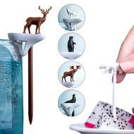 Qualy Набор шпажек-маркеров для бокалов Cool animal, 6 шт.