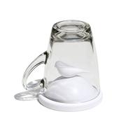 Qualy Чашка с крышкой Sparrow (300 мл), белая