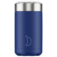 Chilly's Bottles Контейнер для горячего Food Pot Matte (500 мл), синий