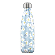 Chilly's Bottles Термос Floral Daisy (500 мл), голубой