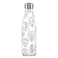 Chilly's Bottles Термос Line Drawing Leaves (500 мл), белый