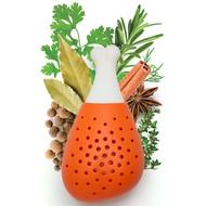OTOTO Емкость для специй погружная Pulke, 8х14х6 см, оранжевая