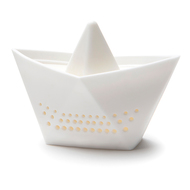 OTOTO Ситечко для заваривания чая Paper Boat, белое