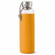 Black+Blum Бутылка для воды стеклянная (600 мл), оранжевая