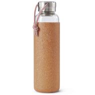 Black+Blum Бутылка для воды стеклянная (600 мл), светло-коричневая