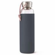 Black+Blum Бутылка для воды стеклянная (600 мл), серая
