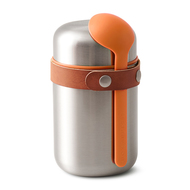 Black+Blum Термос для горячего Food Flask (400 мл), оранжевый