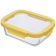 Smart Solutions Контейнер для еды стеклянный (1050 мл), желтый