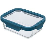 Smart Solutions Контейнер для еды стеклянный (1050 мл), темно-синий