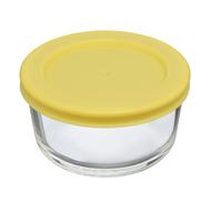 Smart Solutions Контейнер для еды стеклянный (236 мл), желтый