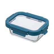 Smart Solutions Контейнер для еды стеклянный (370 мл), темно-синий