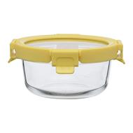 Smart Solutions Контейнер для еды стеклянный (400 мл), желтый