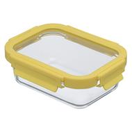 Smart Solutions Контейнер для еды стеклянный (640 мл), желтый