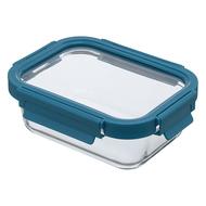 Smart Solutions Контейнер для еды стеклянный (640 мл), темно-синий