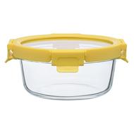 Smart Solutions Контейнер для еды стеклянный (650 мл), желтый
