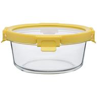 Smart Solutions Контейнер для еды стеклянный (950 мл), желтый