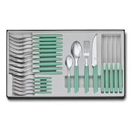 Victorinox Набор столовых приборов Swiss Modern Extension, 24 пр., мятно-зеленый