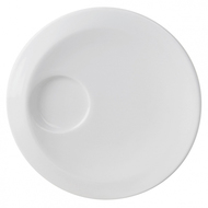 Guy Degrenne Блюдце для кофейной чашки Smoos, 15 см, белое