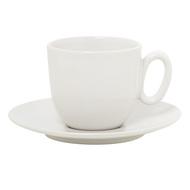 Guy Degrenne Блюдце для кофейной чашки Modulo Nature Caolin, 12.5 см, белое