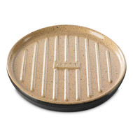 Roemertopf Планча с ребристой поверхностью для гриля Lafer BBQ, 32х2.6 см