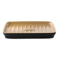 Roemertopf Планча с ребристой поверхностью для гриля Lafer BBQ, 34х23х2.8 см