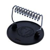 Victoria Cast Iron Пресс чугунный, круглый, для бургера и мяса, 16.4 см