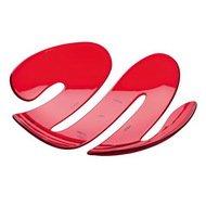 Koziol Ваза сервировочная EVE (3552536), 34х34.5х7.4 см, красная