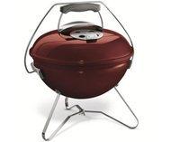 Weber Гриль угольный Smokey Joe Premium, 37 см, красный