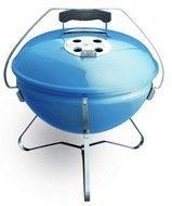 Weber Гриль угольный Smokey Joe Premium, 37 cm, голубой веджвуд