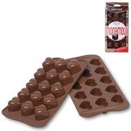 "Silikomart Форма ""Сердечки"" для льда и шоколада, 15 ячеек, 25х17.5 см"