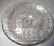 IVV Блюдо для сыра Kase, 32 см, прозрачное