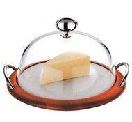 Casa Bugatti Блюдо для сыра Lola, 20 см, с крышкой