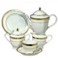 Yamasen Сервиз чайный на 12 персон, золотой, 41 пр.